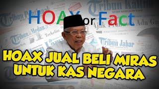 HOAX! Wapres Ma'ruf Amin Bolehkan Jual Minuman Keras untuk Kas Negara