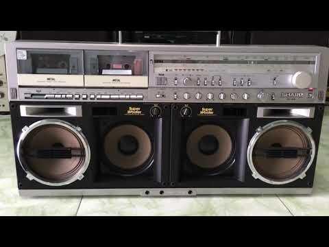 Casette SHARP GF 909  Trần nghị cassette