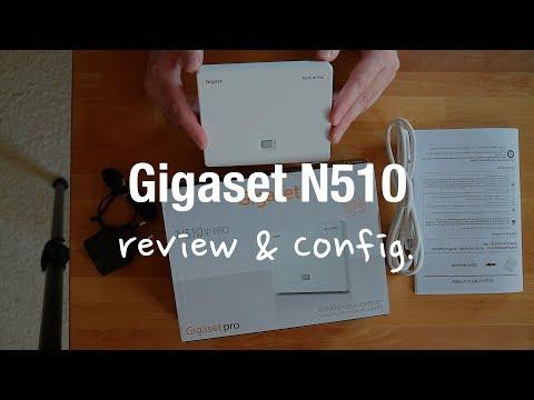 Gigaset N510 IP PRO Base Station (Unboxing, Setup, Review)