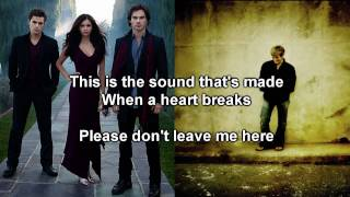 Vampire Diaries Dave barnes - When A Heart Breaks w/ Subs Lyrics