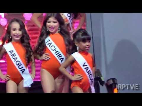 Traje de Baño Miss Teen Models Venezuela 2018 Infantil Gala Final Parte 3