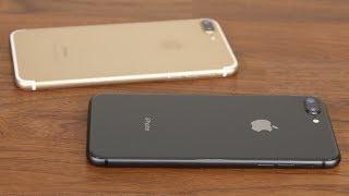 iPhone 8 Plus vs iPhone 7 Plus Full Comparison