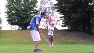 preview picture of video '18th hole at Dunnderosa Golf Club, Chelsea Qc'