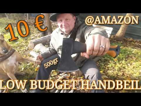 ✔LOW BUDGET HANDBEIL f. 10 € b. AMAZON! Big Leaf Handbeil