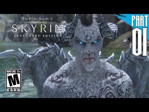 【SKYRIM 200+ MODS】Dark Elf Gameplay Walkthrough Part 1 [PC - HD]