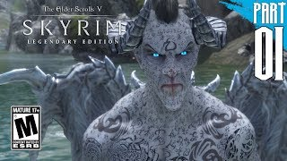 【SKYRIM 200+ MODS】Dark Elf Gameplay Walkthrough Part 1 [PC - HD]