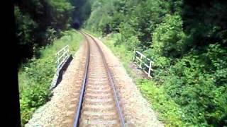 preview picture of video 'České Dráhy: Trat' 081 Děčín hl.n. - Benešov n.Ploučnicí - Česká Lípa hl.n. (100%)'