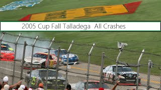 All NASCAR Crashes From The 2005 UAW Ford 500