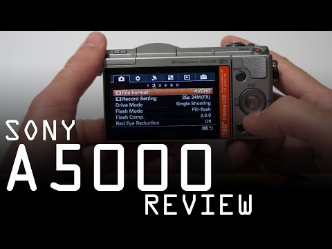 Sony A5000 hands on review