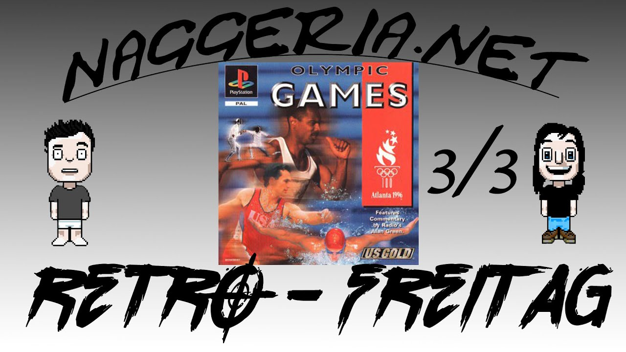 [Retro-Freitag] Olympic Summer Games 1996 – Part 3/3 (PS1)