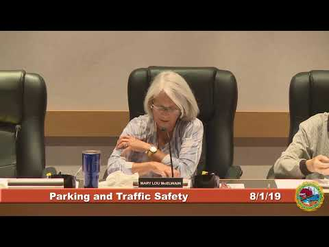 Parking and Traffic Safety Committee 8.1.2019