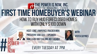 How to Buy HUD Foreclosed Homes with only $100 Dollars Down