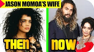 JASON MOMO'AS AQUAMAN WIFE LISA BONET 2018   FAMILY   KIDS  