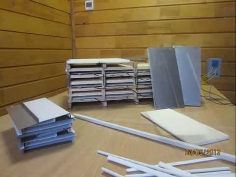 Конструкция оболочки штабеля для кассетных сушилок ФлексиХИТ. Быстрая сушка древесины
