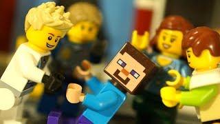 НУБик МАЙНКРАФТ против ЛЕГО Сити - Мультфильмы LEGO Мультики Minecraft Видео для Детей