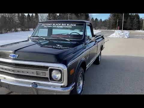 1969 Chevrolet C-10 in Big Bend, Wisconsin - Video 2