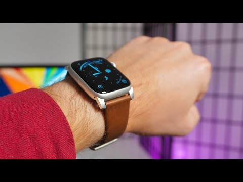 ⌚️Stylowy pasek dla Apple Watch? NOMAD Modern Leather Strap.
