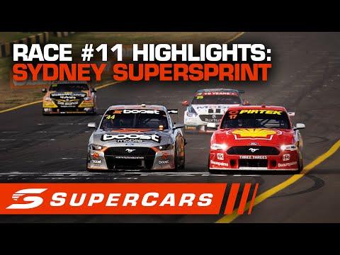 SUPERCARS シドニースーパースプリント レース#11ハイライト動画