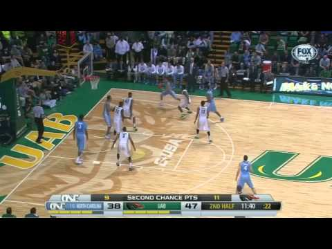 Video: North Carolina-UAB Game Highlights