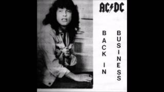 AC/DC - Back In Business (Bootleg 1986)