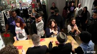 Fall out boy, Fall Out Boy - In Store Appearance at Hollywood & Highland