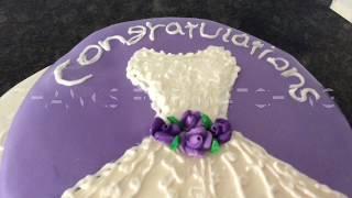 Beautiful Homemade And Tasty Bridal Shower Cake