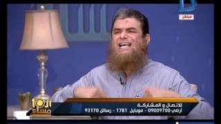 العاشرة مساء  مناظرة ساخنة بين الشيخ محمود لطفى عامرالسلفي والكاتب شريف الشوباشى العلماني
