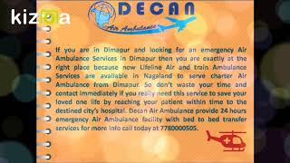 Book Advance Life Support Charter Air Ambulance in Dimapur