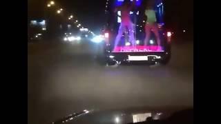 Strip Club Bus in Russia