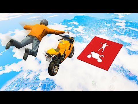 Download 1,000,000 IQ IMPOSSIBLE BIKE STUNTS! (GTA 5 Funny Moments) HD Mp4 3GP Video and MP3