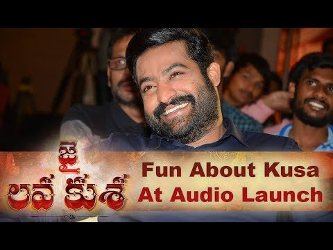 Funny Discussion About Kusa At Audio Launch