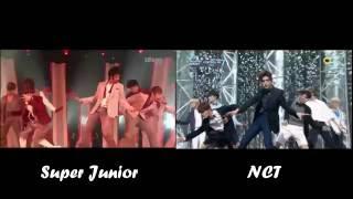 Super Junior VS NCT - Sorry Sorry