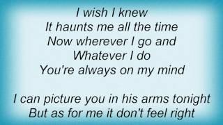 Alan Jackson - A Little Bluer Than That Lyrics