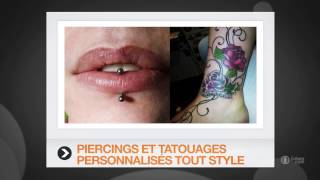 preview picture of video 'Tatouage, piercing, bijoux fantaisie - Niort (79) K-ROLL PIERCING - TATTOO MUCH'