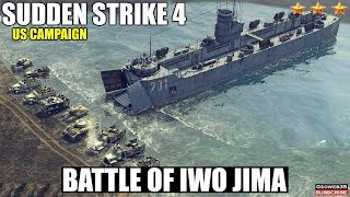 Sudden Strike 4 The Pacific War DLC   US Campaign   Battle of Iwo Jima