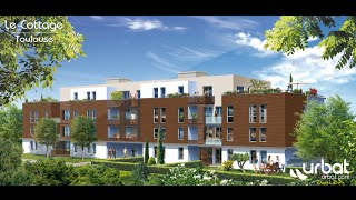 preview picture of video 'Le Cottage - Programme Immobilier Neuf Toulouse (31) - URBAT Toulouse'