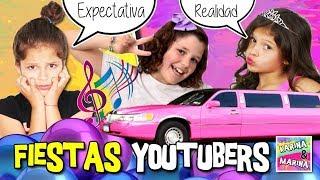 ¡¡EXPECTATIVA VS REALIDAD De FIESTA YOUTUBERS!! 🎉 ¡FIESTA Del MILLÓN De SUSCRIPTORES De LADY PECAS!