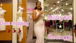 Army Wife Life: MILITARY BALL Dress Shopping.... *THE STRUGGLE*