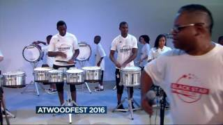 Black Star Drum Line gives preview performance ahead of AtwoodFest