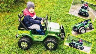Армейский джип Kreiss 2X6V10AH детский джип / электромобиль