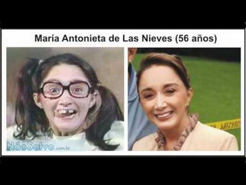 Chaves , Antes e depois dos atores