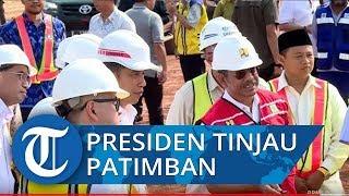 Presiden Jokowi Tinjau Pelabuhan Patimban yang Ditargetkan Selesai Tahun 2027