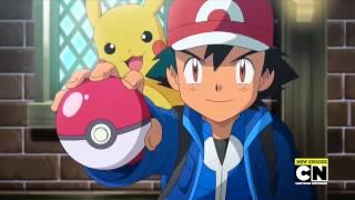 Rockruff  - (Pokémon) - Pokemon [AMV] - Ash, RockRuff, Greninja, and Pikachu - On My Own