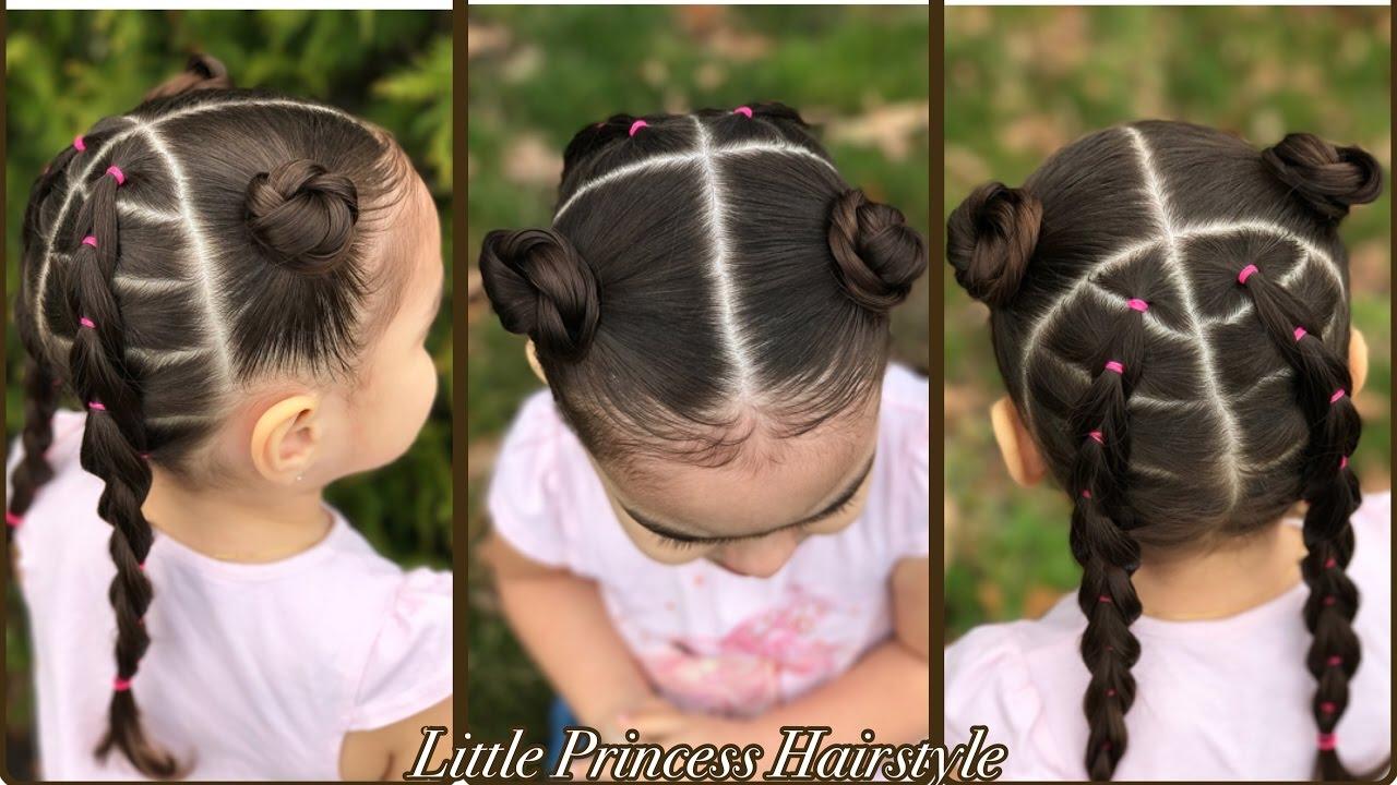 Peinados Faciles Para Ninas Con Ligas Cabello Corto