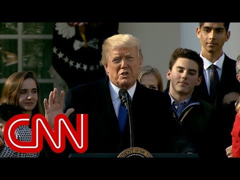 Trump touts anti-abortion policies in March for Life speech