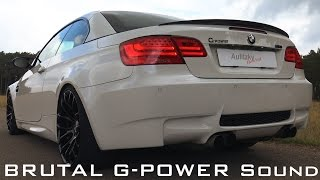 BMW M3 G-Power E93 - Acceleration ONBOARD Autobahn 0-300 Km/h / Aulitzky Tuning