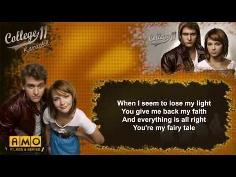 College 11 fairy tale (Karaoke)