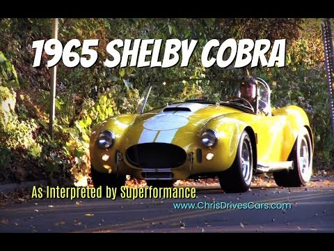 Superformance Shelby Cobra Replica Test Drive