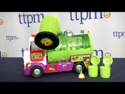 Item 1 Moose Trash Pack Trashie 2016 Garbage Truck And Sewer Dump 14386