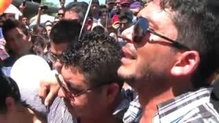 """El Flaco de Recoditos le canta """"Mi Último Deseo"""" en su sepelio a Luis Fernando Muñoz"""